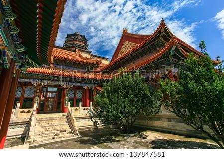 Summer palace, Beijing, China #137847581