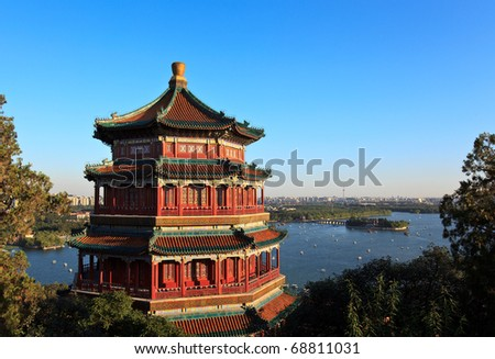 Summer Palace in Beijing, China #68811031