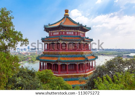 Summer Palace of the Emperor of China #113075272