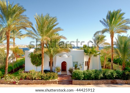 Summer residence red sea coast