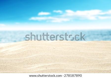 summer sand  - Shutterstock ID 278187890
