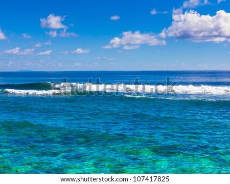 Summer Scene Waves