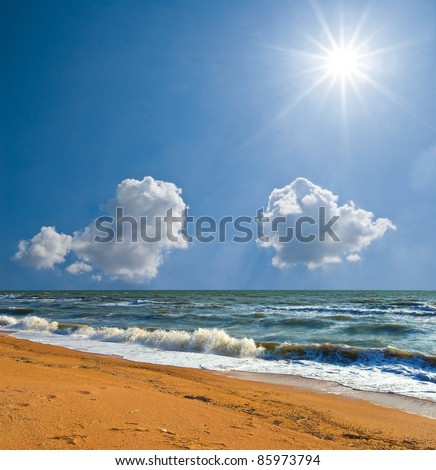 summer sea beach