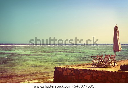summer seascape. folded...