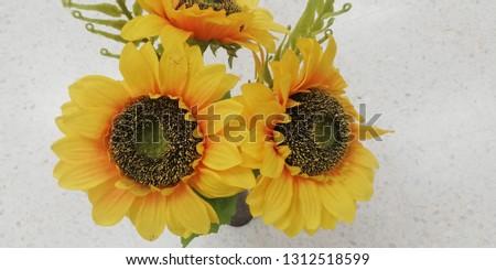 Summer Sunflower Bouquet #1312518599