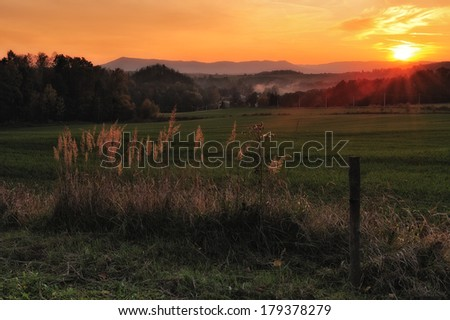 Summer sunset #179378279