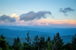 Summer Sunset on the Appalachian Trail
