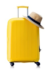 Summer time -Travel bag and straw hat
