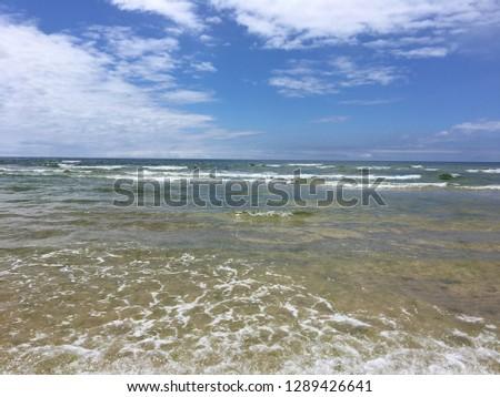 summer vacation island #1289426641