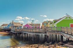 Summerside waterfront (Prince Edward Island, Canada)