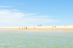 Summertime in the Arcachon bay, France