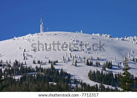 Summit of Mt Spokane, a ski resort