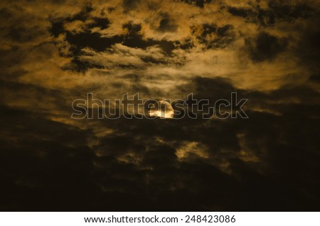 Sun and Cloud #248423086