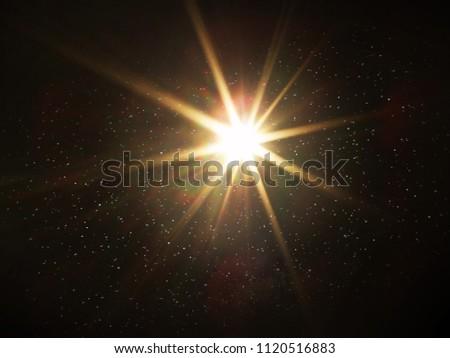 Sun Beams in the Universe  #1120516883