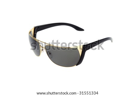Sun glasses. Isolated on white.