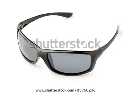 Sun glasses isolated on white background