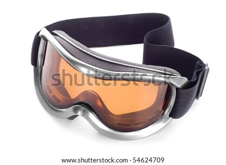 Sun-goggles on a white background #54624709