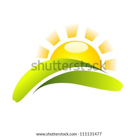 Sun Icon Creative Design