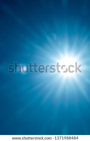 Sun in  sky #1371988484