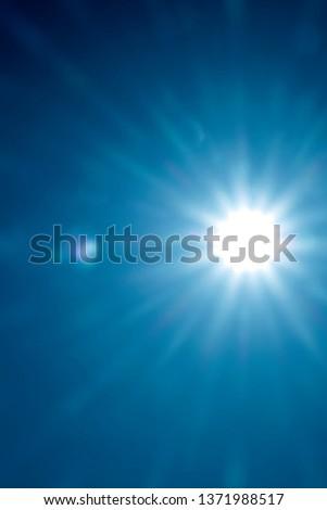 Sun in  sky #1371988517
