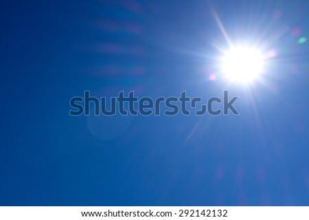Sun in the sky #292142132