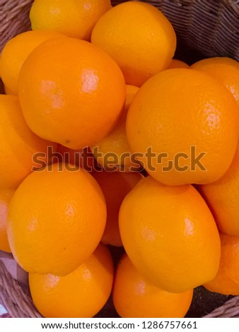 Sun Kwik orange as the image Stockfoto ©