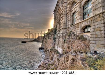 Sun Over Monaco Coast