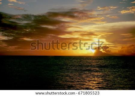 Sun Rays #671805523