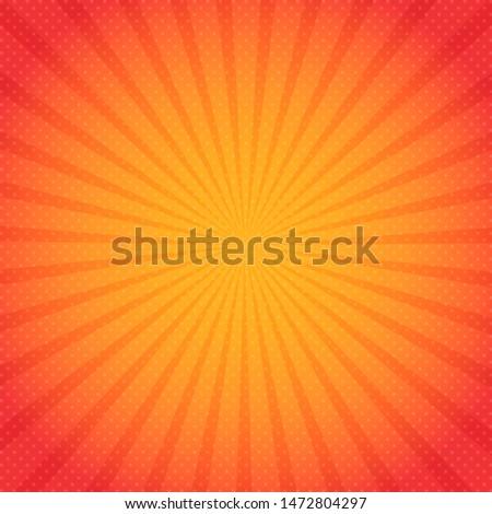 Sun rays. Sun rays background. Illustration