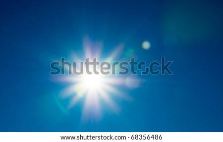 Sun (Real lensflare)