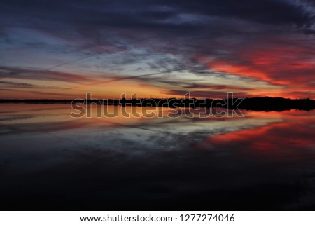 sun rise and sun set #1277274046