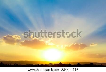 Sun Rocketing to the Sky  #234444919