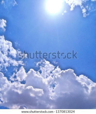 Sun Shine With Cloud #1370813024