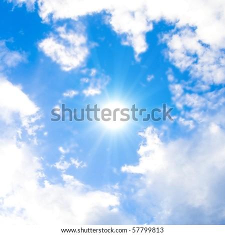 Sun Shining Bright In The Skies