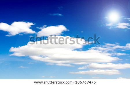 sun sky clouds #186769475