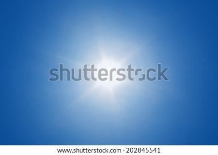 Sun with sun ray #202845541