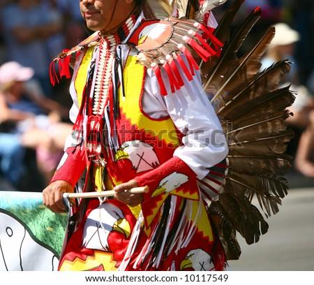 Sundancer - Native American dancer