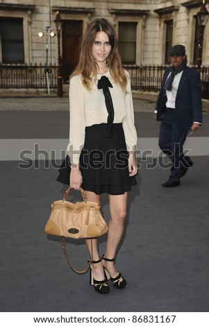 Sunday Girl singer, Jade Williams arrives for the RAA Summer exhibition launch party at the Royal Academy of Arts, Piccadilly, London 02/06/2011  Picture by: Steve Vas / Featureflash