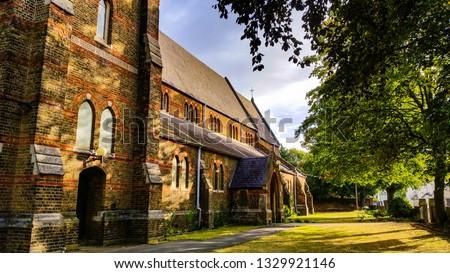 Sunday moorning church #1329921146