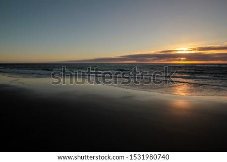 sundown at the beach gui-gui chico gran canaria #1531980740