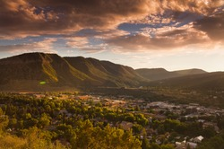 Sundown over Durango
