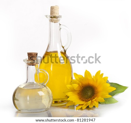 sunflower and vegetable oils