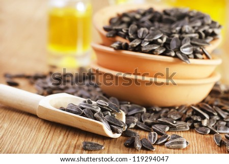sunflower seeds and oill