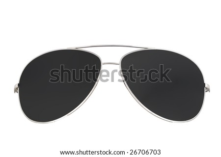sunglasses isolated 3
