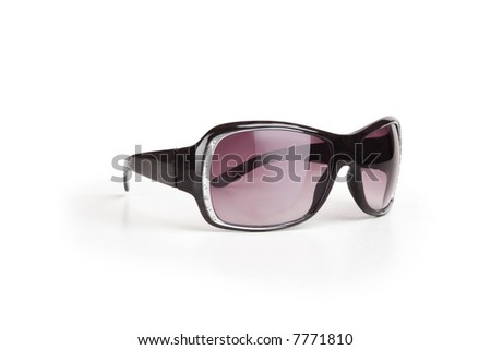 Sunglasses isolated on a white background including clipping path
