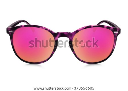 sunglasses isolated on white background  #373556605