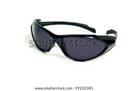 Sunglassesman's sports sunglasses isolated on the white