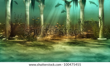 Stock Photo Sunken City