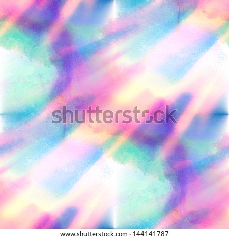 sunlight abstract blue isolated watercolor stain raster illustration
