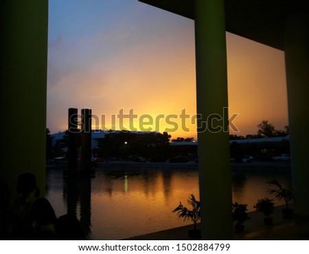 sunlight view Rajamangala University of Technology Isan Thiland